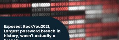 Rockyou2021: largest password breach wasn't actually a breach
