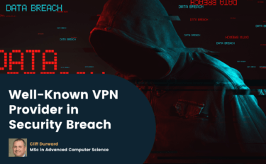 Well-Known VPN Provider in Security Breach
