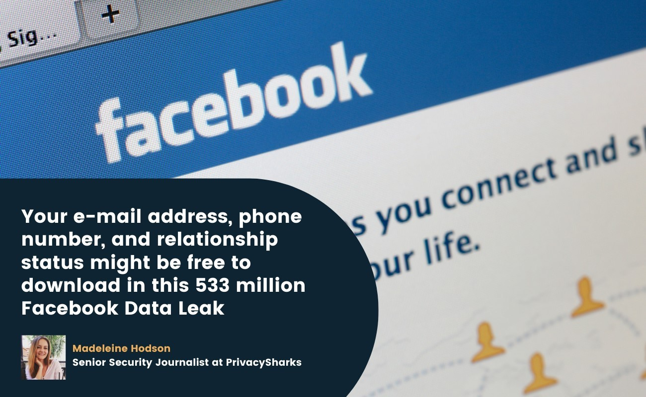 email address, phone number, and relationship status may be free to download in facebook leak