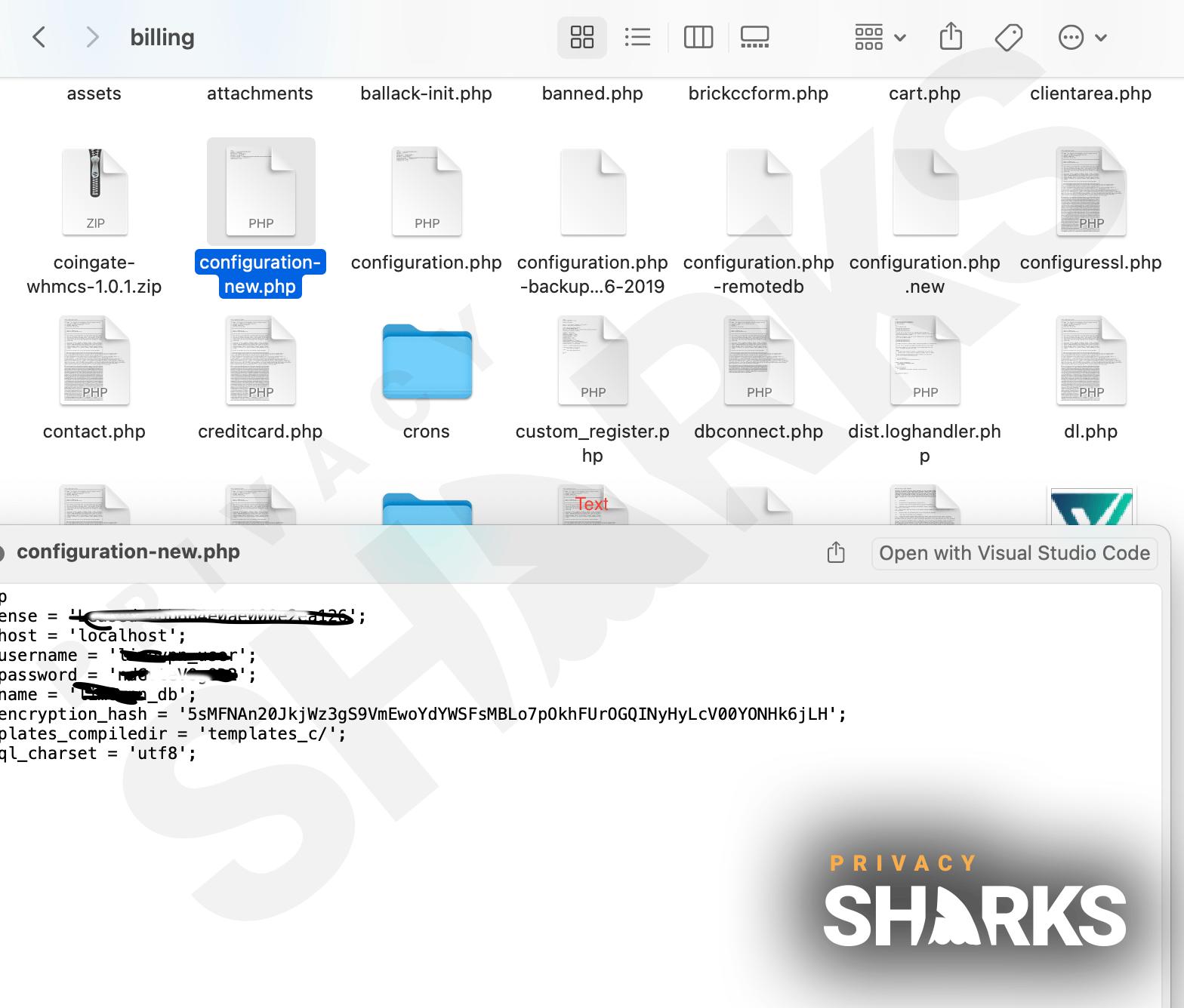 leaked database