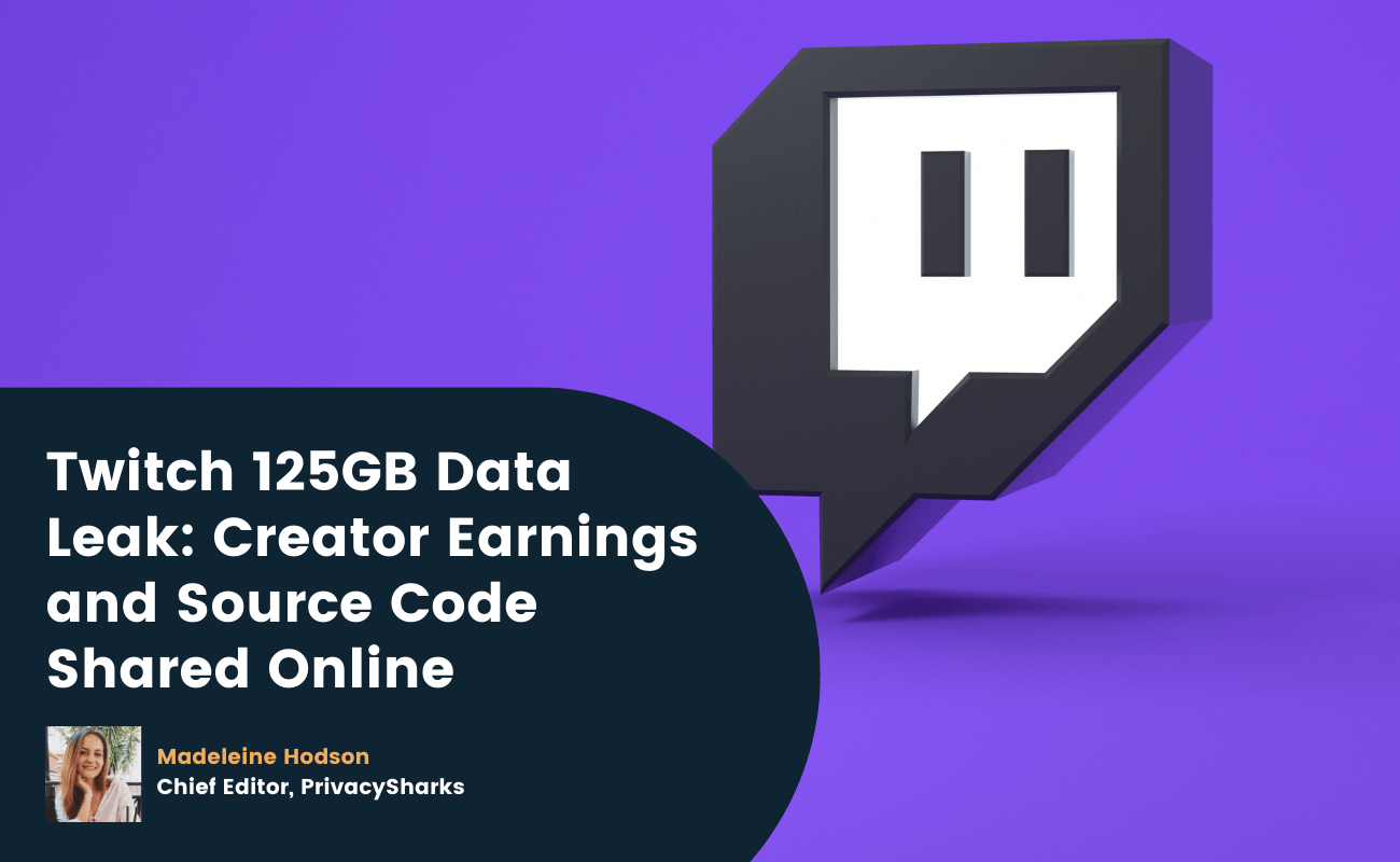 Twitch 125GB Data Leak Creator Earnings and Source Code Shared Online